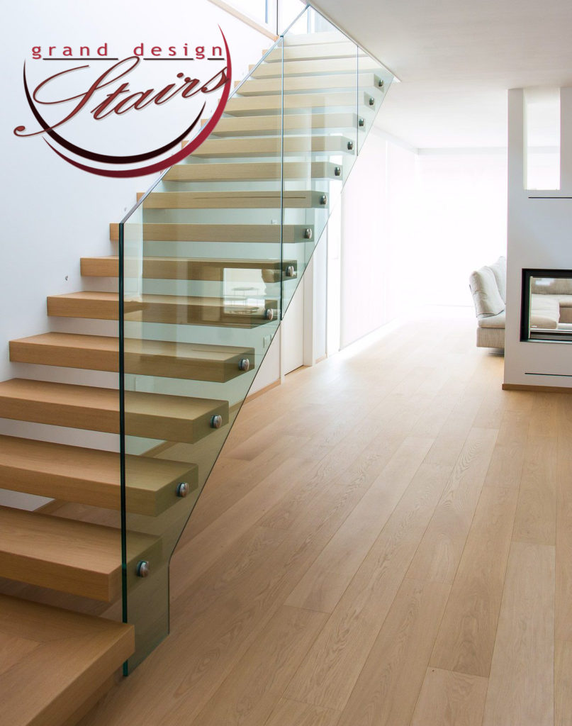 Cantilever Stairs Suspended Staircases or floating Stairways