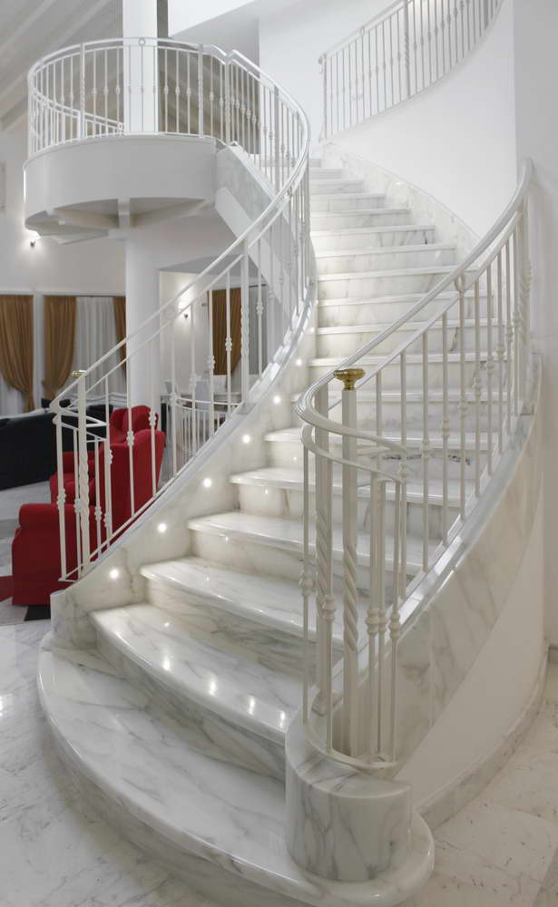 Marble Stairs And Stone Staircases Lifelong Beauty And