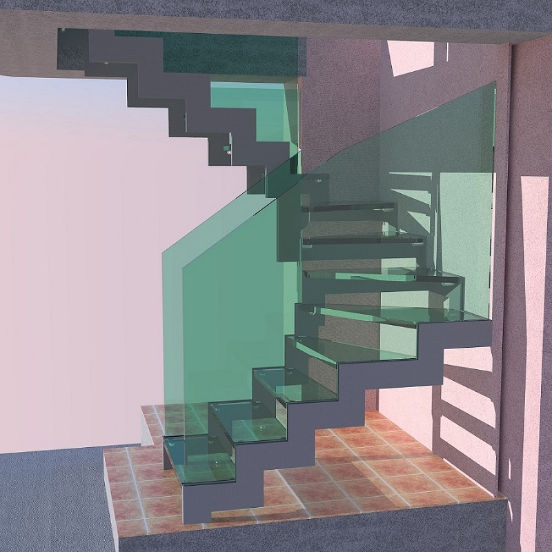 How Do Zig Zag Staircases Work Zig Zag Stairs Design Costruction